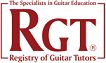 Registry of Guitar Tutors  website